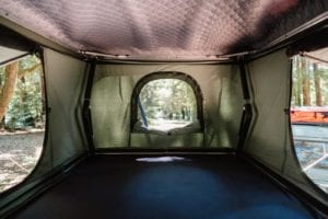 Tepui Hybox interiors - find the pockets