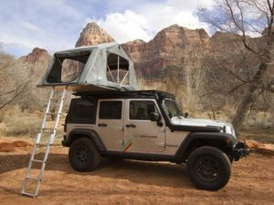 the Front Runner has only got cheaper. Well below the £1k mark, the FeatherLite is a spectacular little roof top tent.   Front Runner roof top tentI say little: this is the 2nd smallest roof tent on this list. Despite being 240 cms long, the internal width is only 130 cms, which is comfortable for 2 people. And, the Front Runner Roof Top Tent is the lowest profile roof top tent.