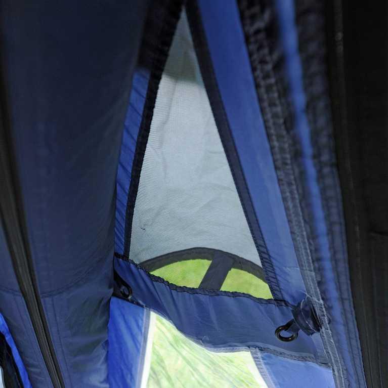 Air vent above the PVC windows