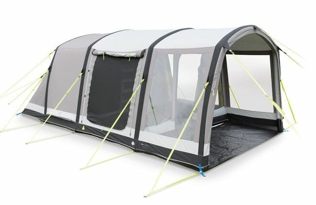 Kampa Dometic Hayling 4 - Polycotton inflatable tent for the family