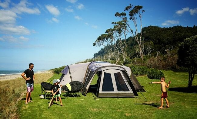 Zempire Aerodome III - the ultimate family tent