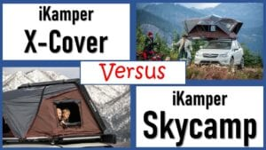 iKamper X-Cover versus iKamper Skycamp 2.0 4x - 4 person roof tents comparison