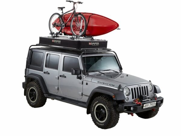 iKamper X-Cover - you can even put a kayak or a bike on your roof top tent