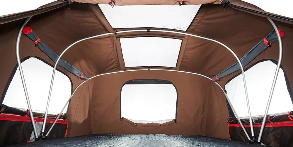 iKamper X-cover interiors