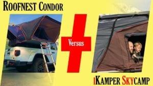 roofnest condor vs ikamper skycamp