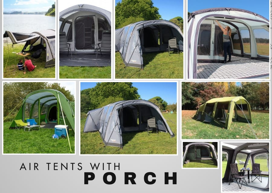 air tents with porch