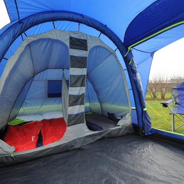 Berghaus Air 4 interior - roomy sleeping area, large living room