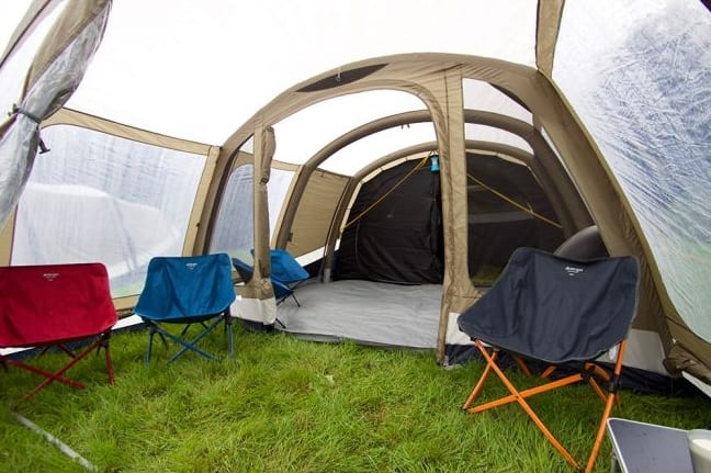 Lichfield Eagle Air tents review