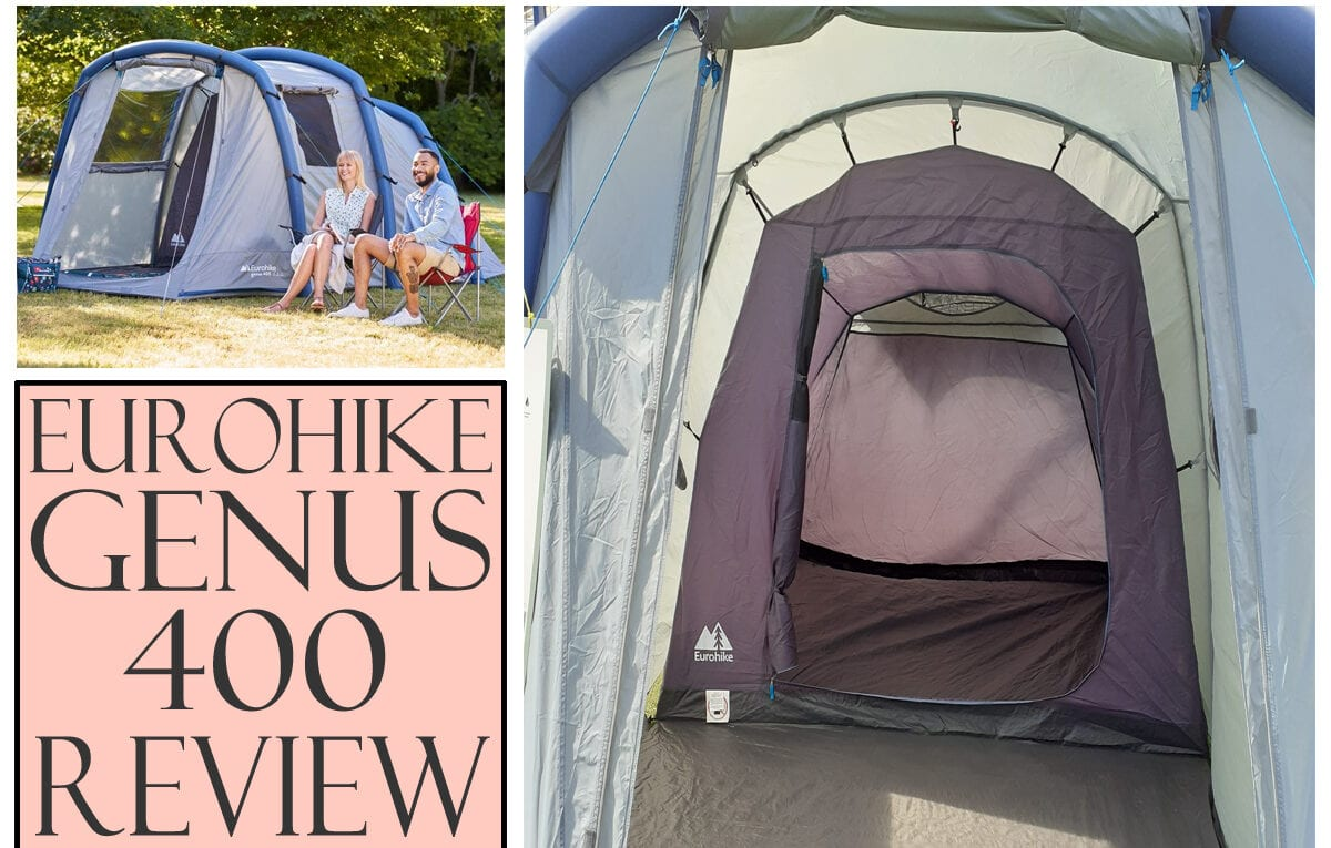 Eurohike genus 400 review cheap air tent family inflatable tent - featured